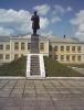 Памятник Т.Г. Шевченко возле СШ №3
